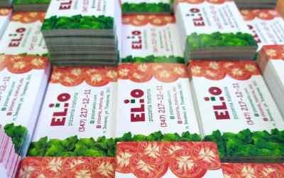 Полиграфия и закатные значки (визитки, листовки) оказываем услуги