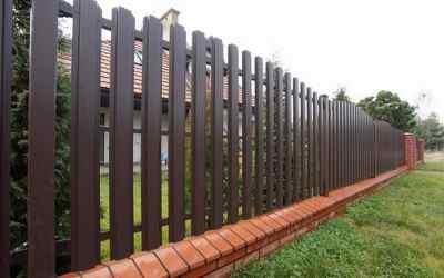 Монтаж заборов и ворот оказываем услуги