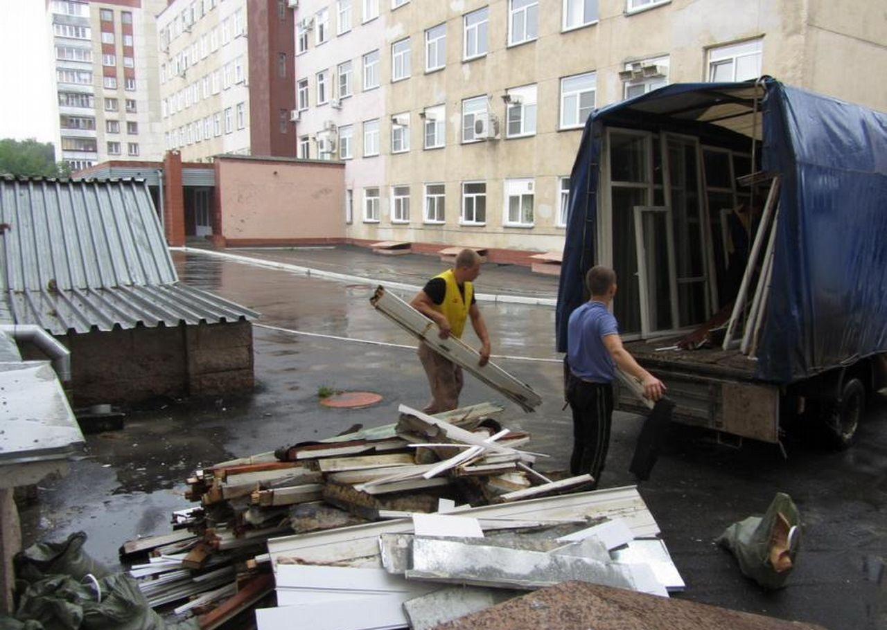 Вывоз мусора, строительного мусора оказываем услуги