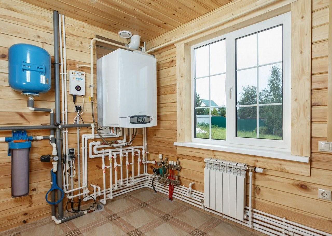 Монтаж отопления, вентиляция, дымоходы, сигнализат оказываем услуги