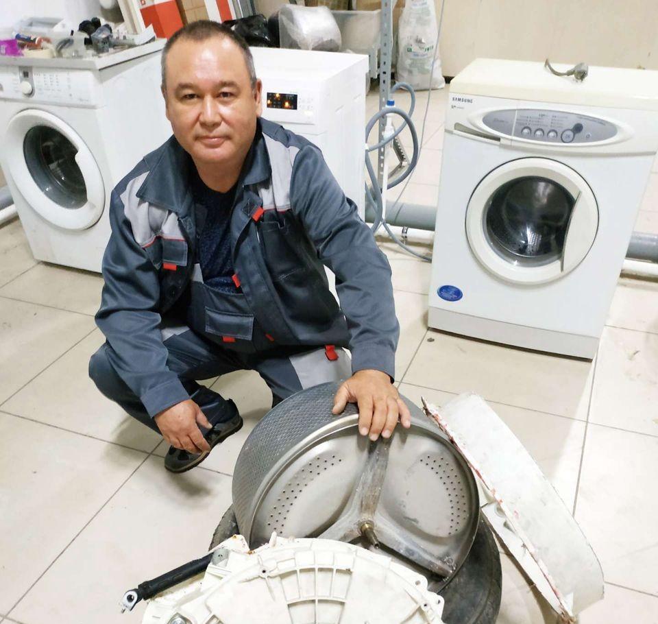 Ремонт стиральных машин и холодильников оказываем услуги